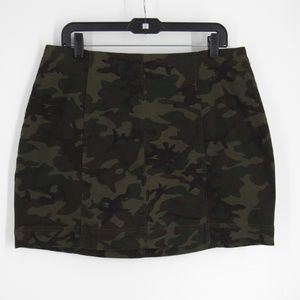 Love, Fire Camouflage Skirt 18W